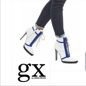 GX by Gwen Stefani Noriko Lace Up Booties